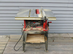 Craftsman Table Saw with Top