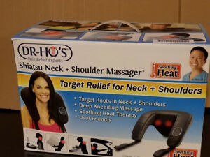 DR-HO'S Neck Shiatsu Massager with Heat