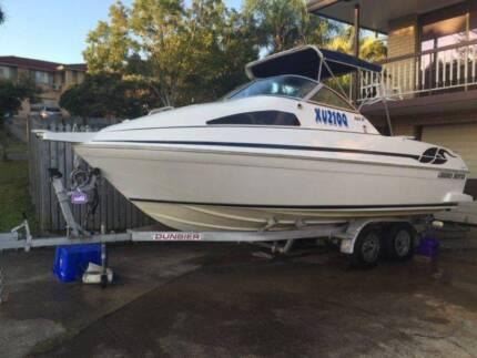 Haines Hunter 620SF Warrior half cabin fishing & family boat Upper Mount Gravatt Brisbane South East Preview