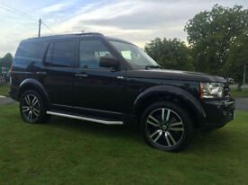 LAND ROVER DISCOVERY 4 HSE BLACK EDITION SDV6 8 SPEED AUTO FLRSH 7 SEATS