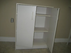 White Utility cupboard