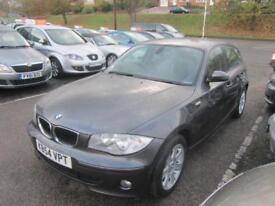 2004 BMW 1 Series 120 Hatch 5Dr 2.0d 163 SE 6 Diesel grey Manual