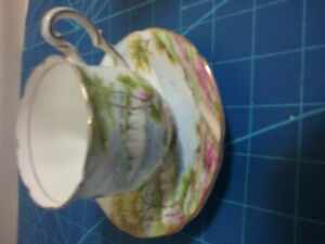 Cliffs of Dover teacup and saucer