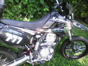 Kawasaki klx 250sf Supermotard 2009