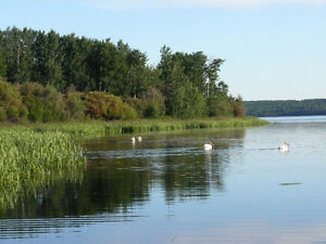 LAKEFRONT - 55 Acres on Lac La Biche!