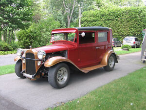 hot rod willys 1928 licensed (no inspection)