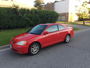 2001 Honda Civic SI coupe Coupe (2 door)