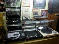 23 Turntables Thorens more -Open Saturday July 11th 9am