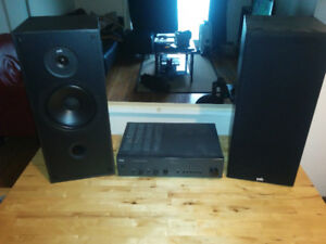 2 x PSB500 Speakers + NAD Amplifier