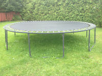 Large outdoor trampoline