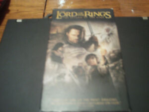 Lord Of The Rings: The Return Of The King VHS