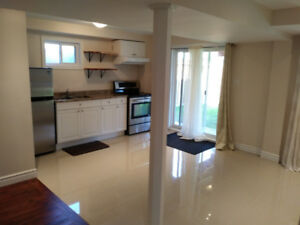 Beautiful & Clean 2 Bedrooms Basement Apartment for Rent