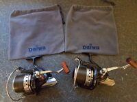 2 Daiwa Tournament ISO reels