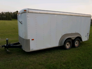 2000 us cargo trailer 16 ft by 7 ft