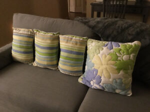 LIZ CLAIBORNE CUSHIONS AND EURO PILLOW COVERS