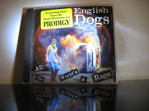 All the World's a Rage by English Dogs CD, 1998 Pavement Music
