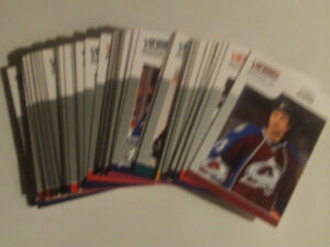 LOT DE 52 CARTES DE HOCKEY ROOKIE UPPER DECK VICTORY 2009-10