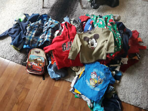 Boys Size 3T Clothing - 2 Large Bags - In Excellent Condition