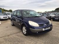 Renault grand scenic 1.6 vvt dynamique 2005 **7 seater**
