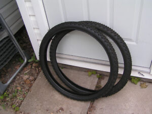 2 - New 26 X 2.1 Knobby Mountain bike tires for sale