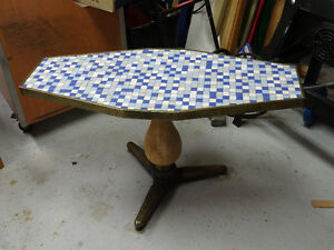 Funky old bar table