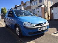 2001 Vauxhall Corsa 1.2 only 66,000 mileage