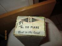 Black Diamond Nr. 110 Plane - in original box