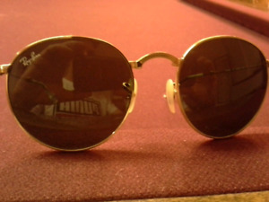 """RAY-BAN  Metal framed round """"fold-up"""" sunglasses."""