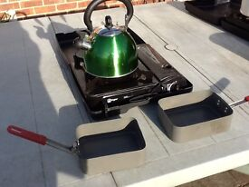 Cooker,kettle and Bivvy cans
