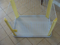 small dog or puppy kennel