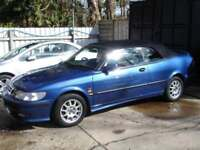 SAAB 9-3 SE TURBO ECO 2000 Petrol Manual in Blue
