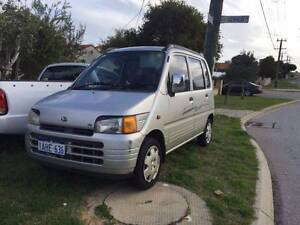 1998 Daihatsu Move Wagon 5 speed manual Spearwood Cockburn Area Preview