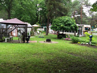 Shady Pines Campground Trailer and lot For Sale