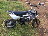 Pitbike dirtbike 110cc off-road loves back wheels