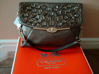 Coach Jewelled Madison Shoulder bag - NEW!