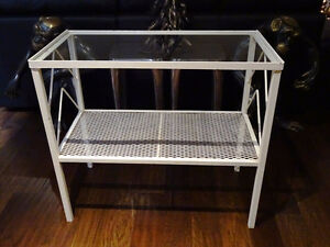SHABBY wrought iron hallway console table stand ENGLISH baby's