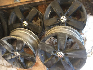 "VW 16"" mags"