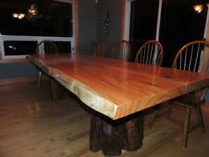 Hand crafted tables by Deep Forest in fanny bay Comox / Courtenay / Cumberland Comox Valley Area image 8