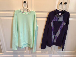 Ivivva Girls Jacket and Long Sleeve Shirt  - Girls Size 14