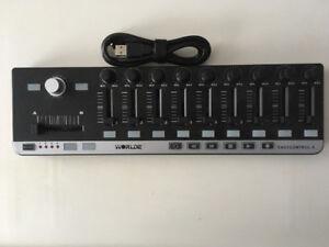 Portable Mini USB  Midi Controller