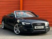 2013 Audi A5 CABRIOLET 2.0 TDI S line Cabriolet (s/s) 2dr Convertible Diesel Man
