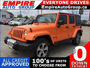 2012 JEEP WRANGLER UNLIMITED SAHARA * TOW PACKAGE * HARD TOP *