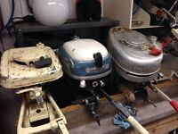 Antique Outboard Motor Collection