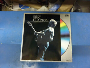ERIC CLAPTON/CREAM OF ERIC CLAPTON Laser Disc