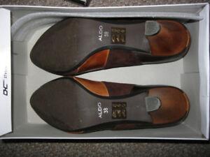 ALDO leather high heel women's shoes