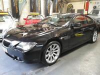 BMW 6 SERIES 630I SPORT 3.0 Black Auto Petrol, 2005 (55)