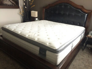 King size mattress-2 years, great condition