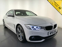 2015 BMW 420D SPORT DIESEL COUPE SATELLITE NAVIGATION 1 OWNER SERVICE HISTORY
