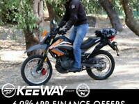 Keeway TX 125cc Enduro Dirt Bike Scrambler Crosser Trails supermoto motorcycl...