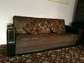 Sofa bed set (3 seater and 2 seater) Used